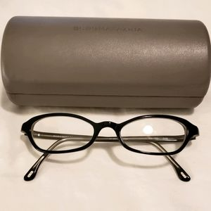 BCBG Black Prescription Glasses BG-153 Case & Clot